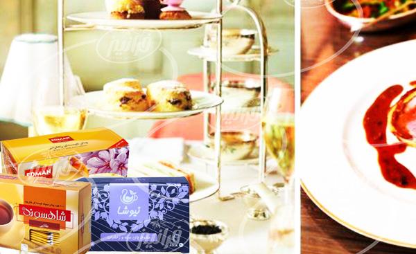 لیست قیمت انواع چای زعفران کیسه ای