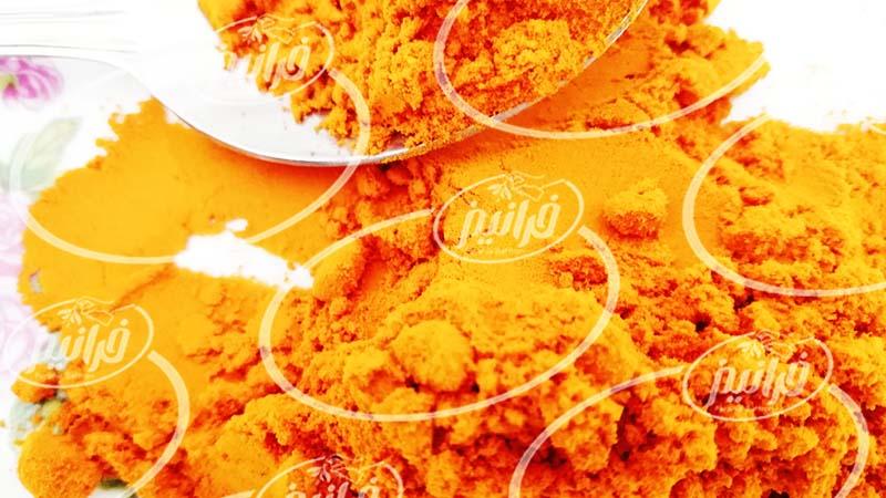 فروش رنگ زرد زعفران خوراکی جهت صادرات