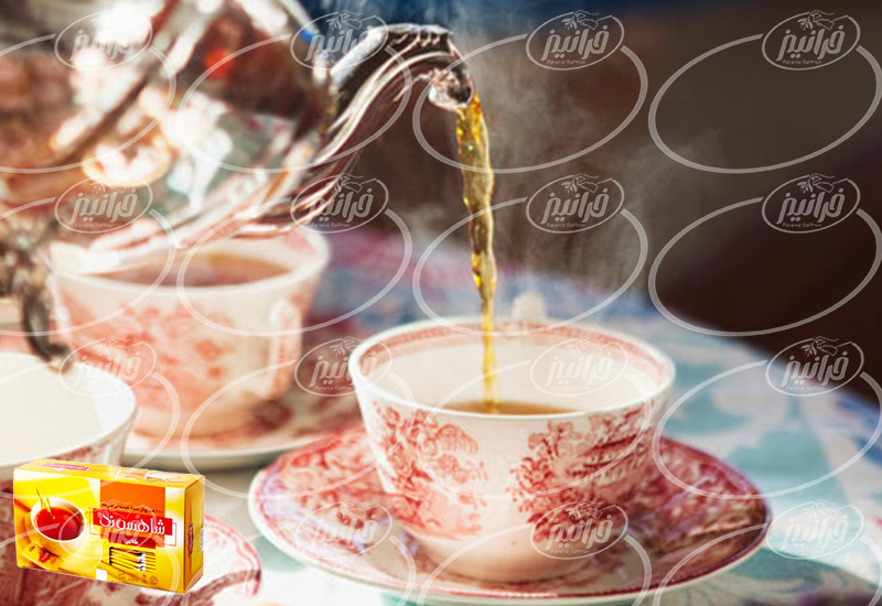 عمده فروشی چای زعفرانی شاهسوند درجه یک