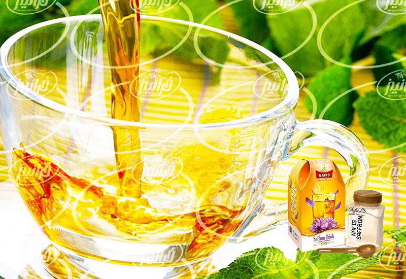 حراج اینترنتی نوشیدنی زعفران نفیس با قیمت ویژه
