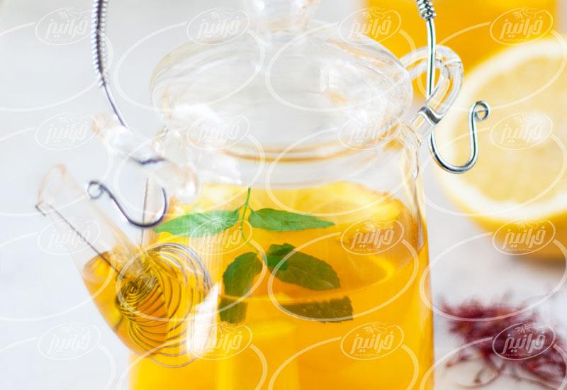 سایت بزرگ پودر نوشیدنی فوری زعفرانی 200 گرمی