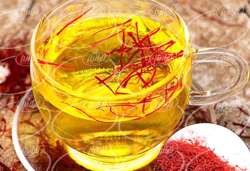خرید ویژه چای سبز زعفرانی سحرخیز