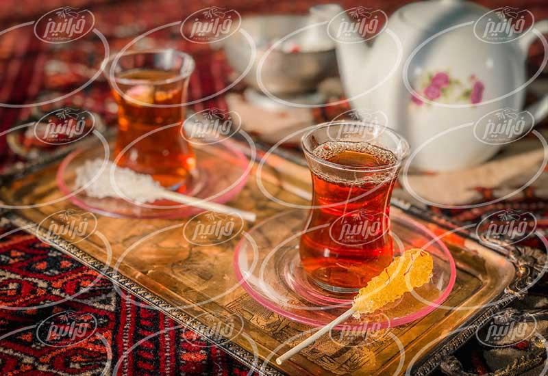 سفارش چای جهان زعفران در سریع ترین زمان