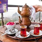 تولید چای زعفرانی بهرامن با طعم و عطر عالی