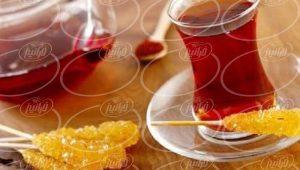مرکز عرضه چای زعفران قاشقی درجه یک