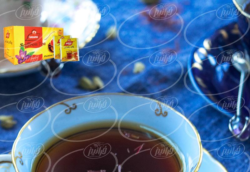 انواع چای زعفرانی تروند با قیمت پایین