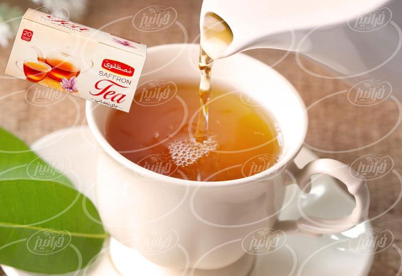 ویژه ترین خدمات فروش چای زعفران مصطفوی