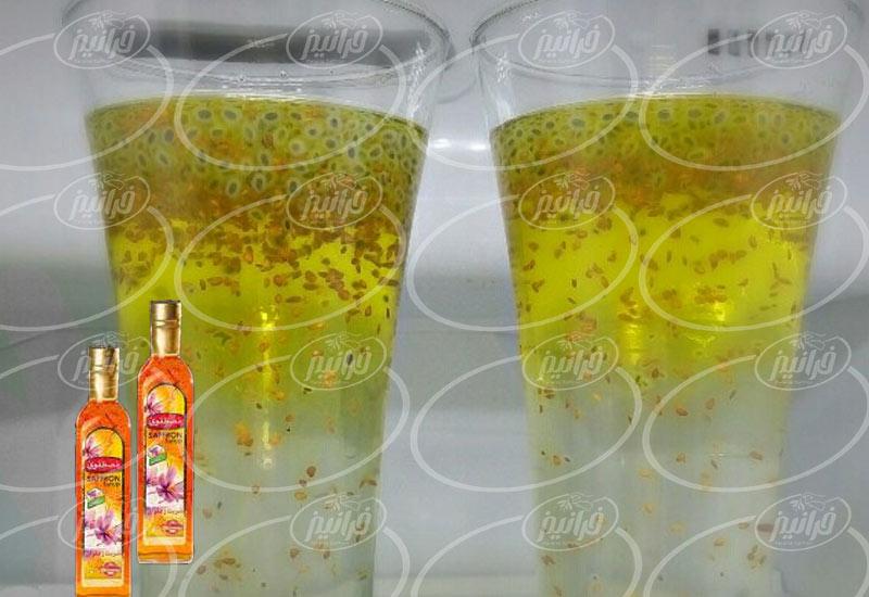 فروشنده برتر شربت زعفران مصطفوی