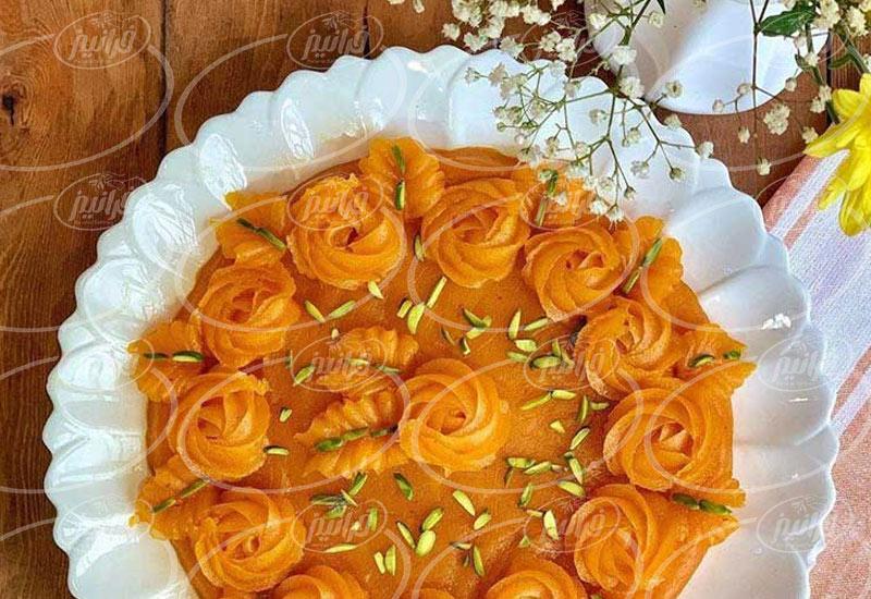 قیمت رنگ غذای زعفرانی 50 گرمی اصل
